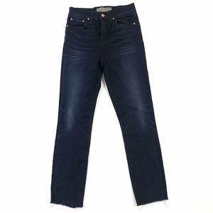 J. Crew Jeans - Point Sur Denim J. Crew High Rise Raw Hem Jeans 24